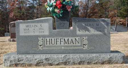 HUFFMAN, MELVIN S. - Greene County, Arkansas | MELVIN S. HUFFMAN - Arkansas Gravestone Photos