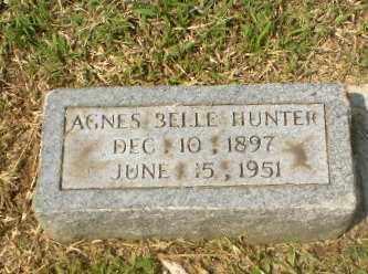 HUNTER, AGNES BELLE - Greene County, Arkansas | AGNES BELLE HUNTER - Arkansas Gravestone Photos