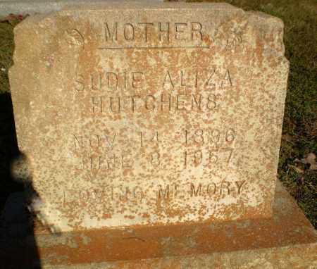 HUTCHENS, SUDIE ALIZA - Greene County, Arkansas | SUDIE ALIZA HUTCHENS - Arkansas Gravestone Photos