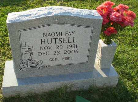 HUTSELL, NAOMI FAY - Greene County, Arkansas | NAOMI FAY HUTSELL - Arkansas Gravestone Photos