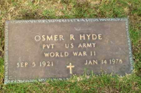 HYDE  (VETERAN WWII), OSMER R - Greene County, Arkansas | OSMER R HYDE  (VETERAN WWII) - Arkansas Gravestone Photos