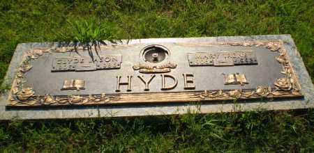 HYDE, CLYDE JASON - Greene County, Arkansas | CLYDE JASON HYDE - Arkansas Gravestone Photos
