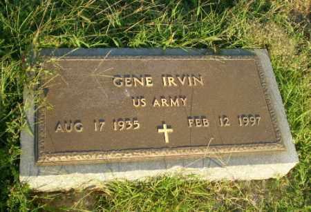 IRVIN (VETERAN), GENE - Greene County, Arkansas | GENE IRVIN (VETERAN) - Arkansas Gravestone Photos