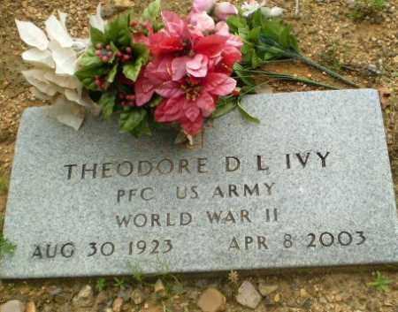 IVY  (VETERAN WWII), THEODORE D. L. - Greene County, Arkansas | THEODORE D. L. IVY  (VETERAN WWII) - Arkansas Gravestone Photos