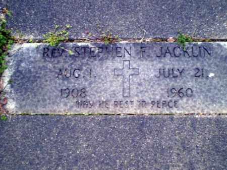 JACKLIN, STEPHEN F. - Greene County, Arkansas | STEPHEN F. JACKLIN - Arkansas Gravestone Photos