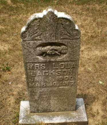 JACKSON, MRS, L.OLA - Greene County, Arkansas | L.OLA JACKSON, MRS - Arkansas Gravestone Photos