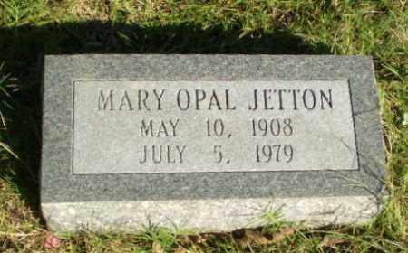 JETTON, MARY OPAL - Greene County, Arkansas | MARY OPAL JETTON - Arkansas Gravestone Photos