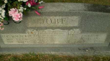 JOBE, EARL W - Greene County, Arkansas | EARL W JOBE - Arkansas Gravestone Photos