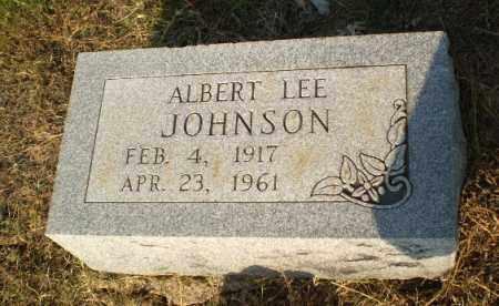 JOHNSON, ALBERT LEE - Greene County, Arkansas   ALBERT LEE JOHNSON - Arkansas Gravestone Photos