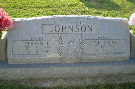 JOHNSON, ANNIE LAURA - Greene County, Arkansas   ANNIE LAURA JOHNSON - Arkansas Gravestone Photos