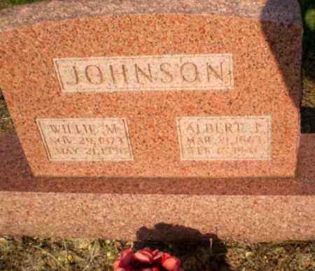 JOHNSON, ALBERT J - Greene County, Arkansas | ALBERT J JOHNSON - Arkansas Gravestone Photos