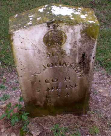 JOHNSTON  (VETERAN CSA), J.N. - Greene County, Arkansas | J.N. JOHNSTON  (VETERAN CSA) - Arkansas Gravestone Photos