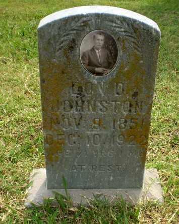 JOHNSTON, LON D. - Greene County, Arkansas | LON D. JOHNSTON - Arkansas Gravestone Photos
