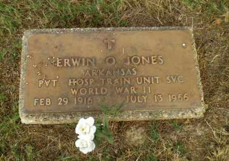 JONES  (VETERAN WWII), ERWIN O - Greene County, Arkansas | ERWIN O JONES  (VETERAN WWII) - Arkansas Gravestone Photos