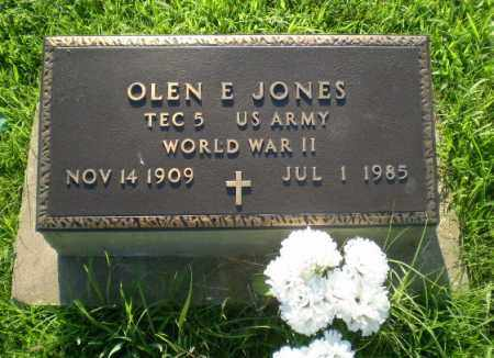 JONES  (VETERAN WWII), OLEN E - Greene County, Arkansas | OLEN E JONES  (VETERAN WWII) - Arkansas Gravestone Photos