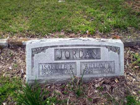 JORDAN, WILLIAM B - Greene County, Arkansas | WILLIAM B JORDAN - Arkansas Gravestone Photos
