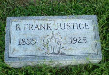 JUSTICE, B. FRANK - Greene County, Arkansas   B. FRANK JUSTICE - Arkansas Gravestone Photos