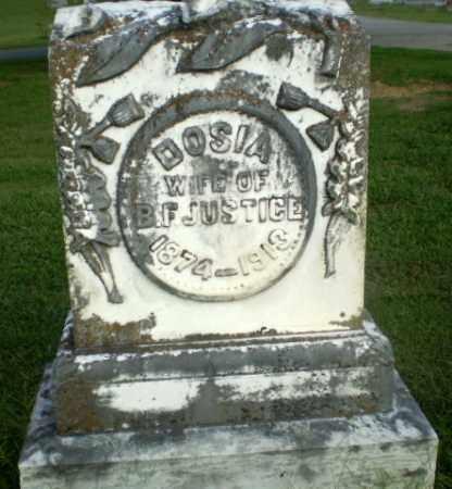 JUSTICE, DOSIA - Greene County, Arkansas   DOSIA JUSTICE - Arkansas Gravestone Photos