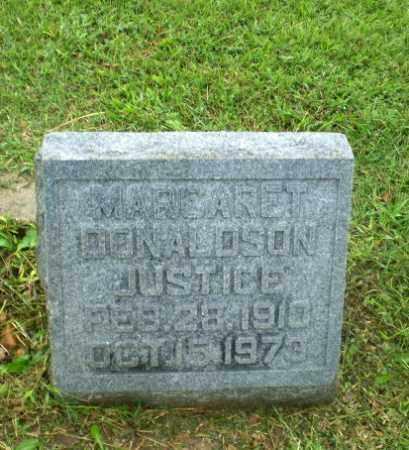 JUSTICE, MARGARET - Greene County, Arkansas | MARGARET JUSTICE - Arkansas Gravestone Photos
