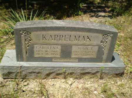 KAPPELMAN, CAROLENA - Greene County, Arkansas | CAROLENA KAPPELMAN - Arkansas Gravestone Photos