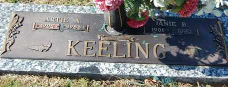 KEELING, ARTIE A. - Greene County, Arkansas | ARTIE A. KEELING - Arkansas Gravestone Photos
