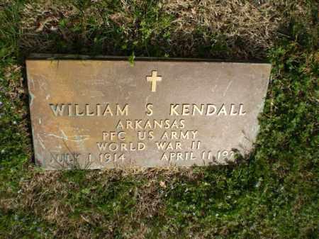 KENDALL  (VETERAN WWII), WILLIAM S. - Greene County, Arkansas   WILLIAM S. KENDALL  (VETERAN WWII) - Arkansas Gravestone Photos