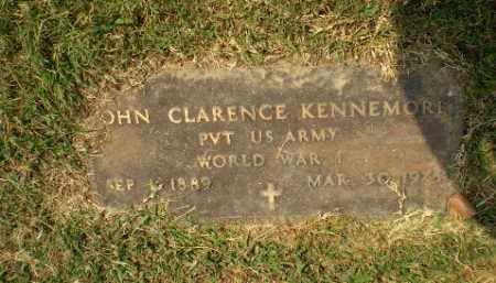 KENNEMORE  (VETERAN WWI), JOHN CLARENCE - Greene County, Arkansas | JOHN CLARENCE KENNEMORE  (VETERAN WWI) - Arkansas Gravestone Photos