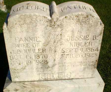 KIBLER, JESSIE B - Greene County, Arkansas | JESSIE B KIBLER - Arkansas Gravestone Photos
