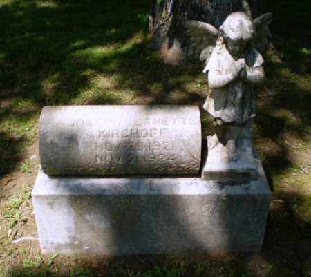 KIRCHOFF, MARTHA  ELIZABETH - Greene County, Arkansas   MARTHA  ELIZABETH KIRCHOFF - Arkansas Gravestone Photos