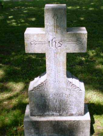 KIRCHOFF, MAGDALEN - Greene County, Arkansas   MAGDALEN KIRCHOFF - Arkansas Gravestone Photos