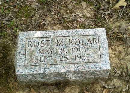 KOLAR, ROSE M - Greene County, Arkansas | ROSE M KOLAR - Arkansas Gravestone Photos