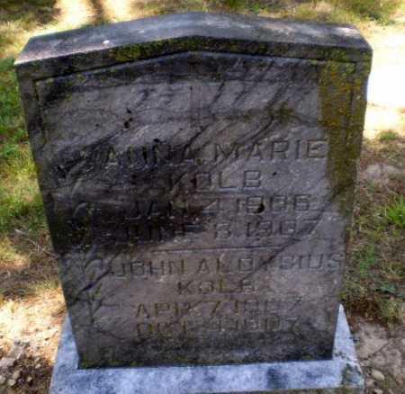 KOLB, JOHN ALOYSIUS - Greene County, Arkansas | JOHN ALOYSIUS KOLB - Arkansas Gravestone Photos