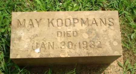 KOOPMANS, MAY - Greene County, Arkansas | MAY KOOPMANS - Arkansas Gravestone Photos
