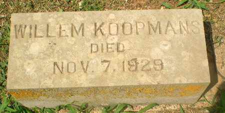 KOOPMANS, WILLEM - Greene County, Arkansas   WILLEM KOOPMANS - Arkansas Gravestone Photos