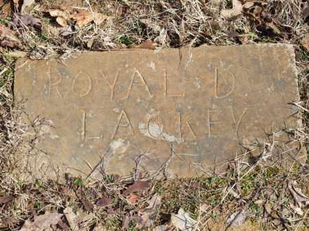 LACKEY, ROYAL D. - Greene County, Arkansas   ROYAL D. LACKEY - Arkansas Gravestone Photos