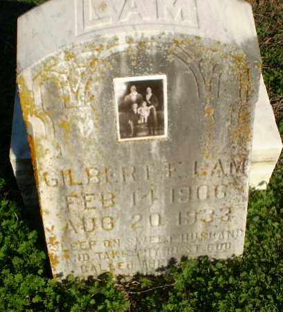 LAM, GILBERT E - Greene County, Arkansas | GILBERT E LAM - Arkansas Gravestone Photos