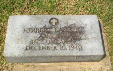 LAMBERT  (VETERAN), HERBERT - Greene County, Arkansas | HERBERT LAMBERT  (VETERAN) - Arkansas Gravestone Photos