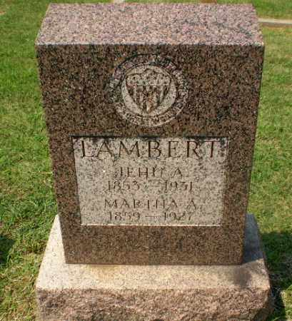 LAMBERT, JEHU A - Greene County, Arkansas | JEHU A LAMBERT - Arkansas Gravestone Photos