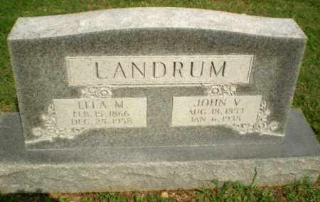 LANDRUM, JOHN V - Greene County, Arkansas | JOHN V LANDRUM - Arkansas Gravestone Photos