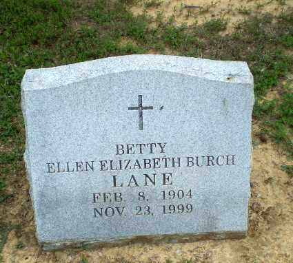 LANE, BETTY ELLEN ELIZABETH - Greene County, Arkansas | BETTY ELLEN ELIZABETH LANE - Arkansas Gravestone Photos