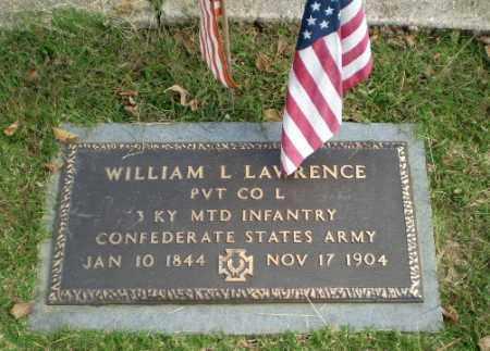 LAWRENCE (VETERAN CSA), WILLIAM L - Greene County, Arkansas | WILLIAM L LAWRENCE (VETERAN CSA) - Arkansas Gravestone Photos
