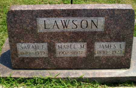 LAWSON, JAMES L - Greene County, Arkansas | JAMES L LAWSON - Arkansas Gravestone Photos