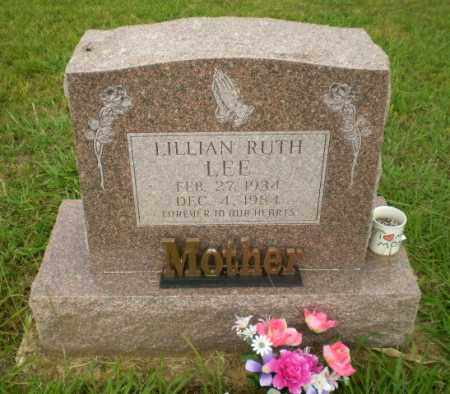LEE, LILLIAN RUTH - Greene County, Arkansas | LILLIAN RUTH LEE - Arkansas Gravestone Photos