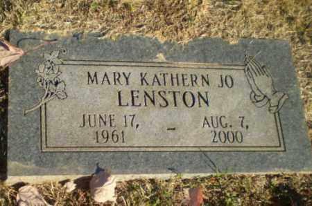 LENSTON, MARY KATHERN JO - Greene County, Arkansas | MARY KATHERN JO LENSTON - Arkansas Gravestone Photos