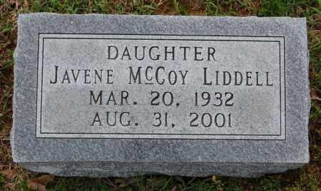 LIDDELL, JAVENE - Greene County, Arkansas | JAVENE LIDDELL - Arkansas Gravestone Photos