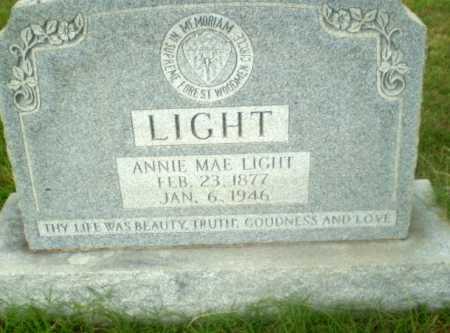 LIGHT, ANNIE MAE - Greene County, Arkansas | ANNIE MAE LIGHT - Arkansas Gravestone Photos