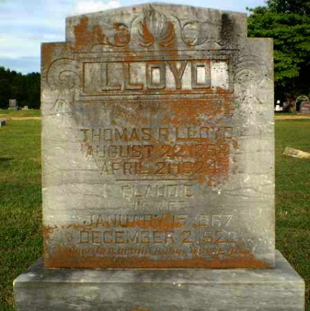 LLOYD, CLAUDIE - Greene County, Arkansas | CLAUDIE LLOYD - Arkansas Gravestone Photos