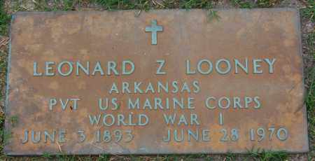 LOONEY (VETERAN WWI), LEONARD Z - Greene County, Arkansas | LEONARD Z LOONEY (VETERAN WWI) - Arkansas Gravestone Photos