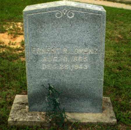 LORENZ, ERNEST R. - Greene County, Arkansas | ERNEST R. LORENZ - Arkansas Gravestone Photos