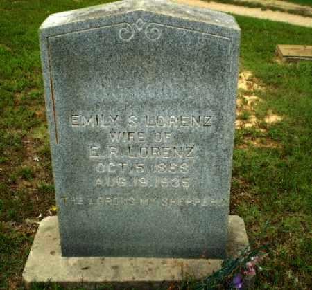 LORENZ, EMILY S - Greene County, Arkansas   EMILY S LORENZ - Arkansas Gravestone Photos